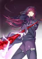 Scathach by danny1128