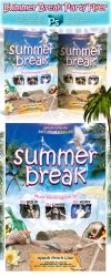 Summer Break Party Flyer by squizmo