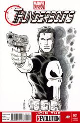 Thunderbolts Sketch Cover by 93Cobra