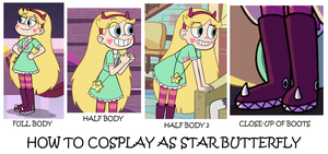 How to Cosplay as Star Butterfly by Prentis-65
