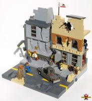 LEGO Fallout Diorama 01 by Saber-Scorpion