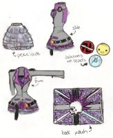 fashion design by nightdreamer351