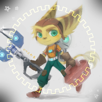 little ratchet and clank by libertoile