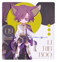 Liribboo #09 Auction [OPEN] by Muagg