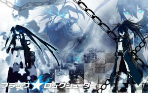 Black Rock Shooter wallpaper by XxClaireStrifexX