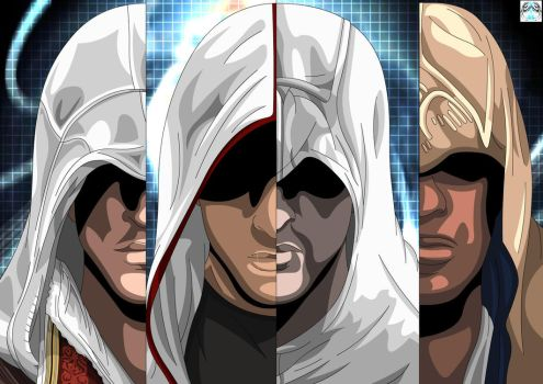 Assassin's Creed - History by Xpand-Your-Mind
