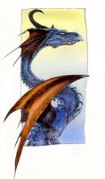airbrushed dragon.. by drakhenliche