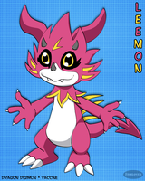 Digimon OC: Leemon by Fishlover