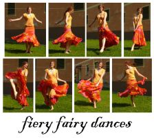 Fiery Fairy dances by syccas-stock