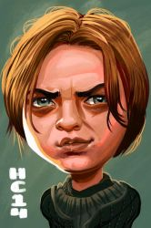 Arya Stark by hamdiggy