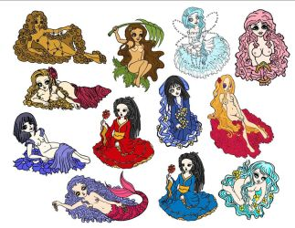 all stickers by kristalwaterfairy