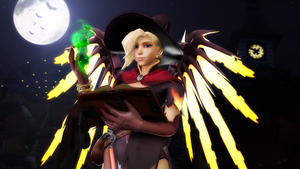 [SFM] Halloween Mercy by NatkaPL