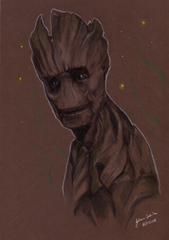 We Are Groot by juhcashew