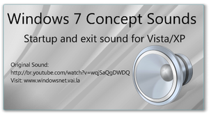 Windows 7 Concept Sounds by WindowsNET