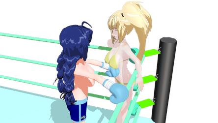 Gift: Cyan and Yellow Sister by Ruben999 by EVBrock