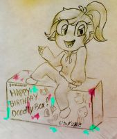 Happy Birthday DoodlyBox! by veeeester400