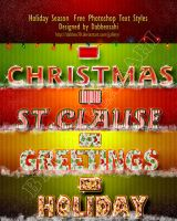 christmas ps text style by dabbexsahi by dabbex30