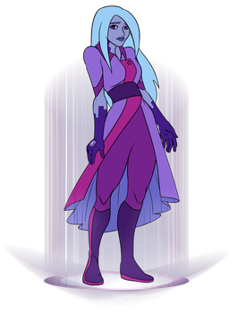 Gemsona: Tanzanite by kitsune2022