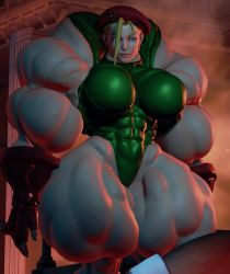 Muscle Goddess Cammy Mod by Ripped-Pixels