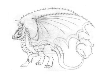 Lava-lace redesign - sketch by Ashen-Phoenix