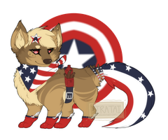 Patriot Puppy Auction [Closed] by X88B8