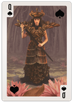 The Queen of Spades by Floating-Particle