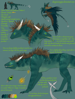 Xanna Ref Sheet -old- by Dragonsong93