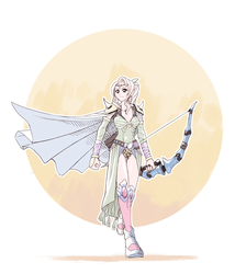 FF4 - Rosa by Scribblehatch