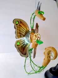 Steampunk Butterfly Dragon by Dreamkeepers
