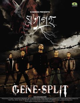 Poster for Gene-Split Band by SAFAYAT