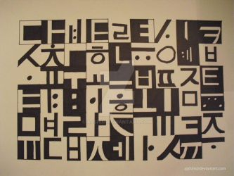 Hanguk Typography by ajshim
