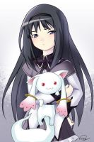 homuhomu and QB by kinary