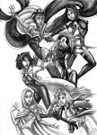 X Women (Black and White) by KaeMcSpadden