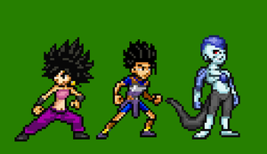 Team Champa sprites by RockMan6493