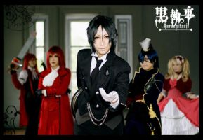 One Hell of a Butler by envyinwondrland