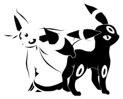 Umbreon + Espeon