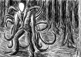 Slenderman by Artisteternal
