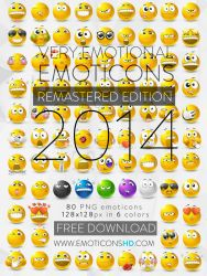 EmoticonsHDcom Remastered Emoticons by lazymau