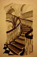 Staircase by eliviangrey