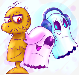 Ghosts of Undertale by X-BlackPearl-X