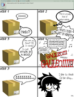 Question - Stuck in a Box by Ask-Annatier