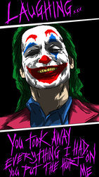 The Joker - Laughing!!! by ahbe87