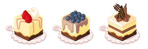 Mini Cheesecakes by Chidorihy