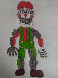 Freddit DrawForMe #2 Arnold the Clown' by yoshipower879