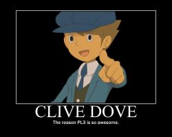 Clive Poster by Clive4everLegal