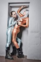metallic girls by AgnaDevi