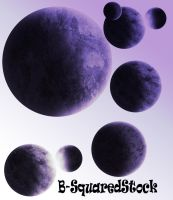 Planet Brushes Set 2 by B-SquaredStock