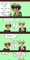 NHG: SITTING HABBITS. part two. by TheGweny