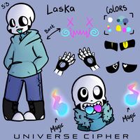 Laska :Skelesona Reference: by UniverseCipher