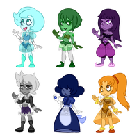 Chibi Pearl Paypal/Points Adopts (3/6 OPEN) by GoopyCat